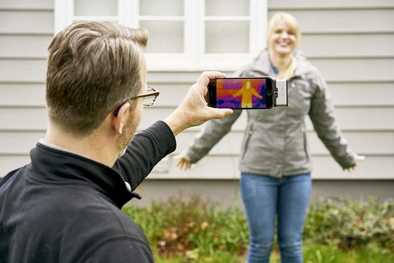cámara infrarrojos móvil